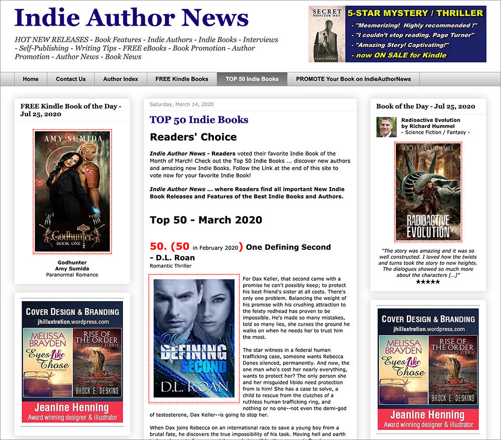 Indie Authors News