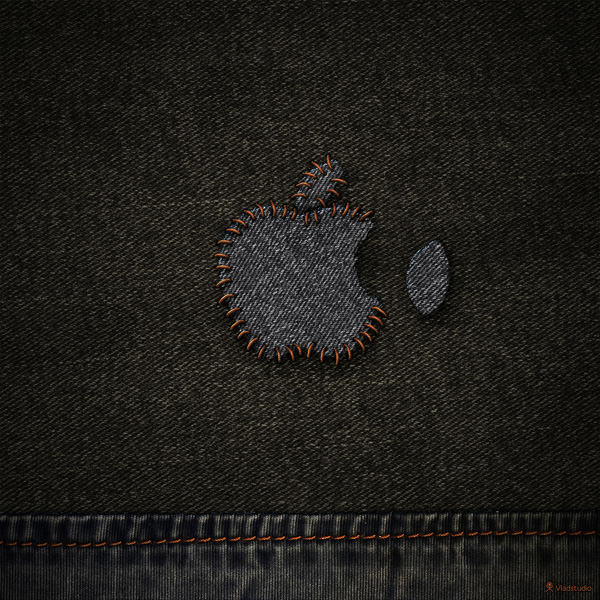 Apple Stiched