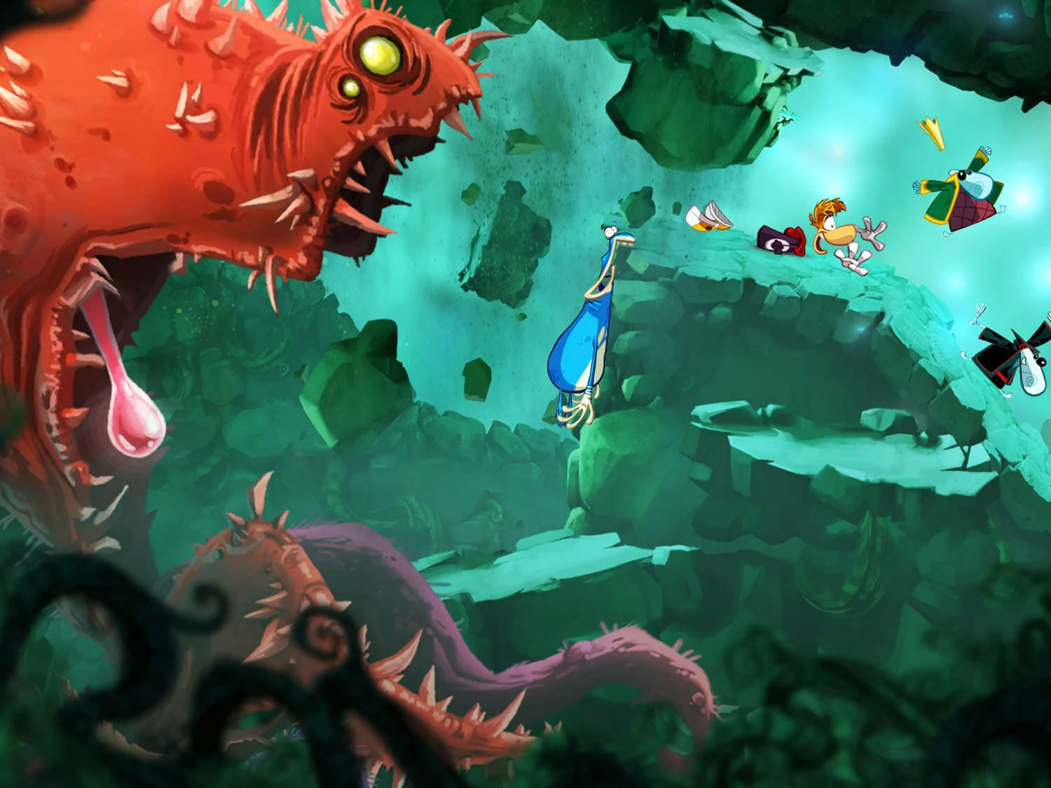 Rayman Origins Game Screen 3 wallpaper