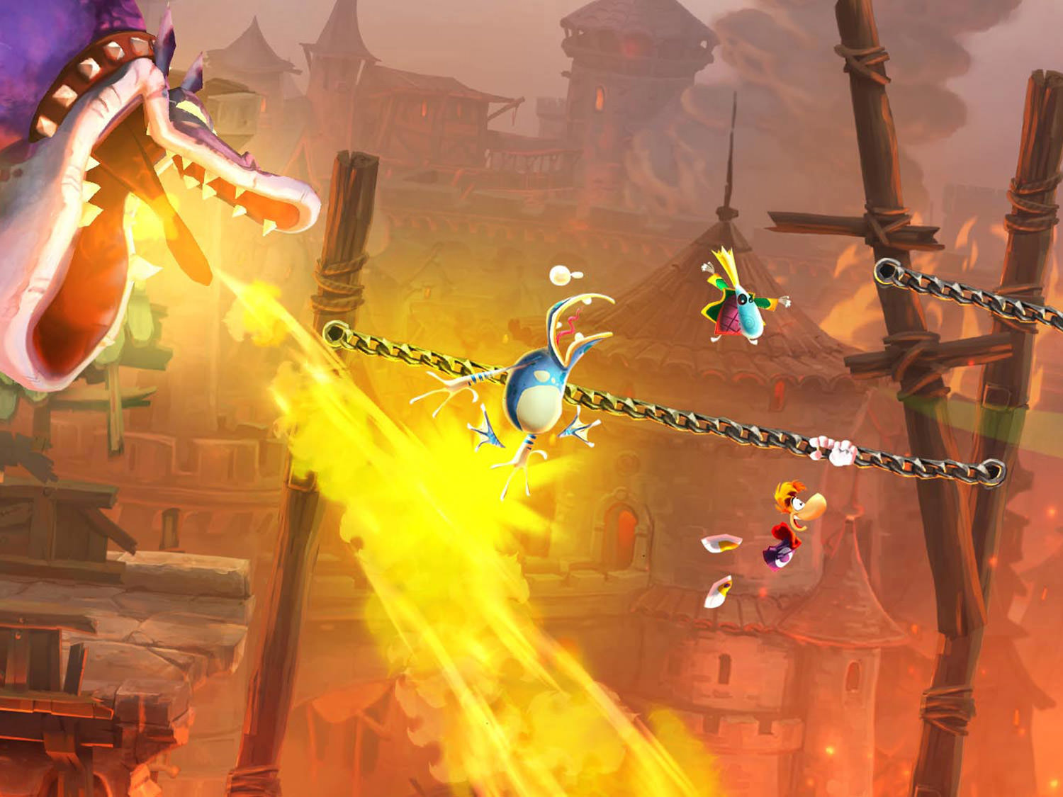 Rayman Legends Game Screen 2 wallpaper