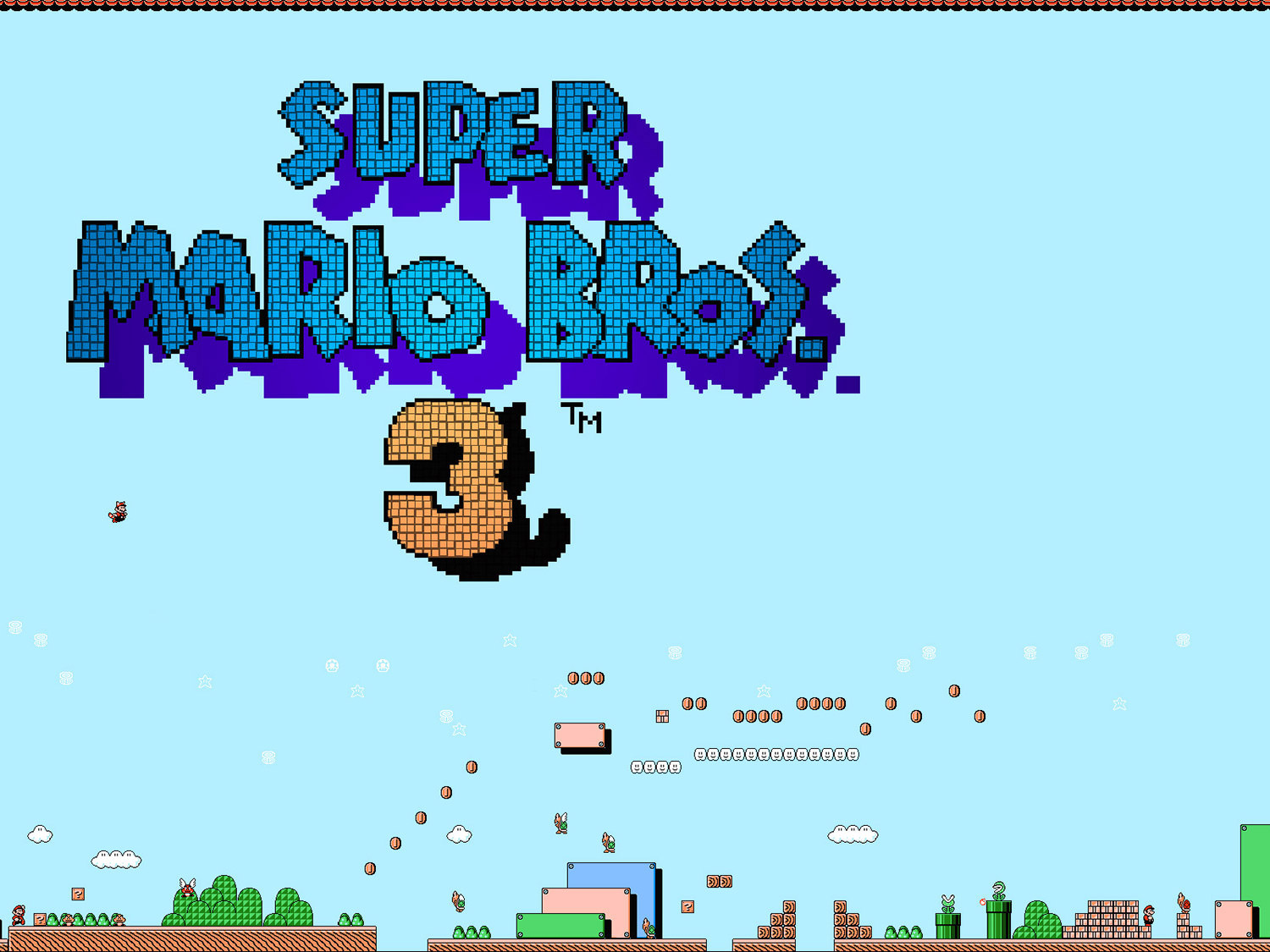 Super Mario Bros 3 wallpaper