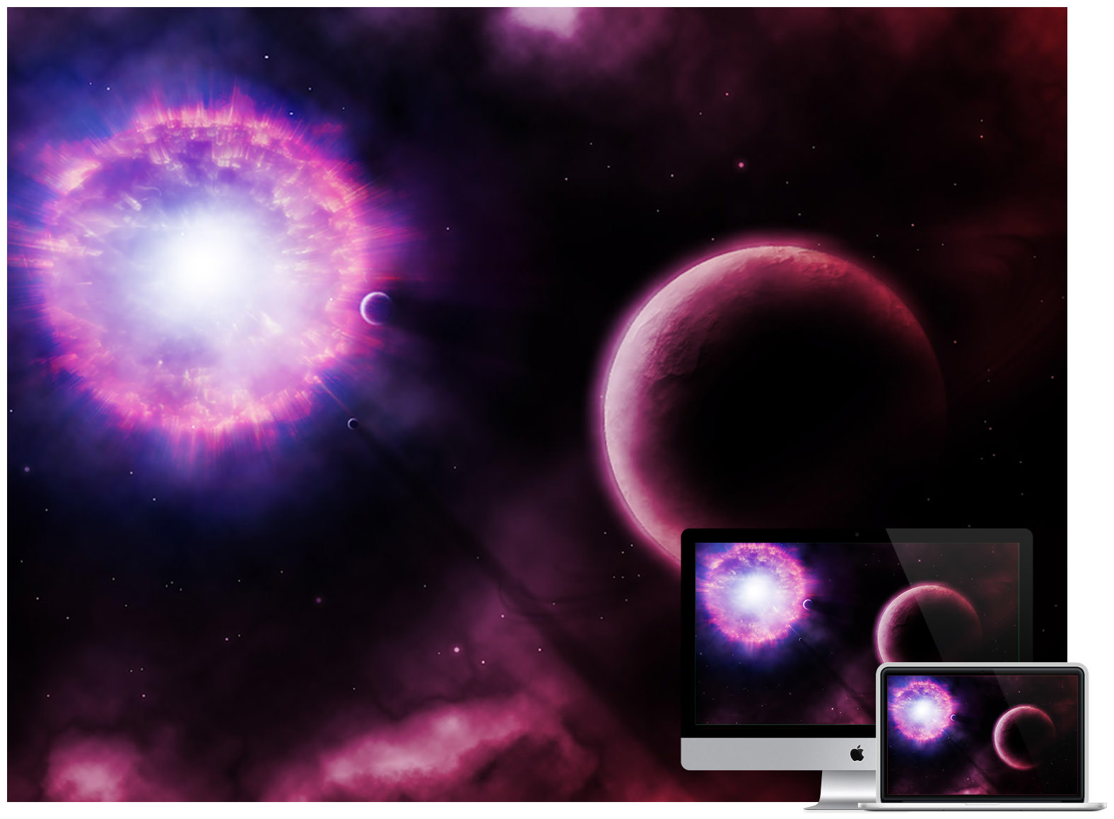 supernova wallpappers