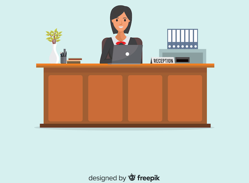 observe-the-receptionist
