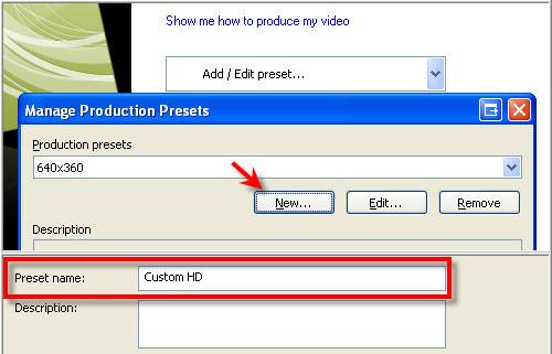 custom product settings